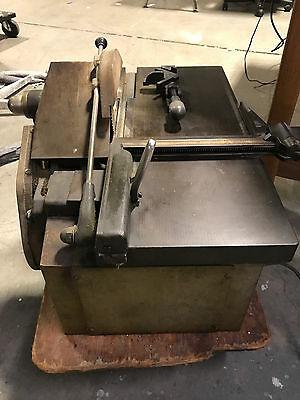 Letterpress Makeready Lead and wood Vintage C&G printers type saw