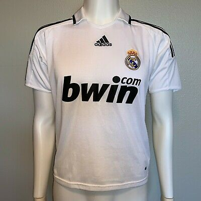 premium selection a5f11 66739 ADIDAS AUTHENTIC REAL MADRID 2010/11 Home Soccer Jersey KAKA ...
