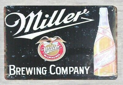 Miller Brewing Company Milwaukee High Life Beer tin metal sign online