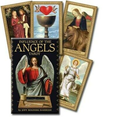 NEW Influence of the Angels Cards Guidebook Set Jody Barbessi Guidance Tarot