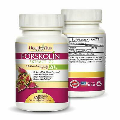 Pure Forskolin Extract for Weight Loss   Keto Diet Pills   Contains 60 Capsules