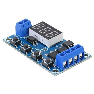 Trigger Cycle Timer Delay Switch 12 24V Circuit Board Dual MOS Tube Control #Z