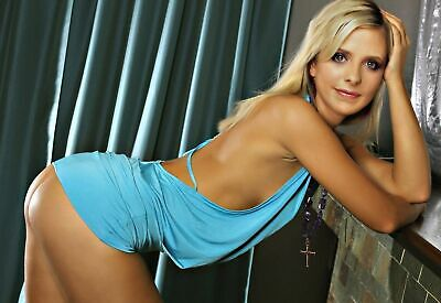 Sarah Michelle Gellar Sexy Pose 8 X 10 Photo [Rare]