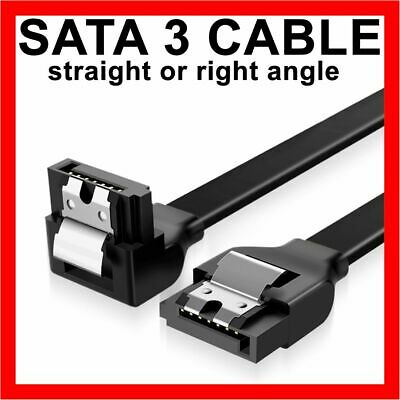 39cm SATA 3 III 3.0 Data Cable 6Gbps for HDD SSD with Angle Lead Clip Adapter
