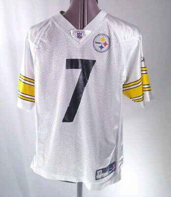 more photos c17ff d22b8 REEBOK BEN ROETHLISBERGER Pittsburgh Steelers Football ...