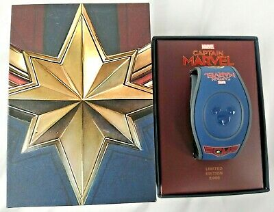 Disney Parks Marvel's Captain Marvel Magic Band Limited MagicBand 2 LE 2000