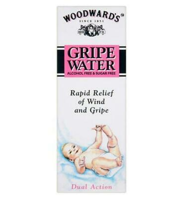 Woodwards Alcohol Sugar Free Gripe Water for Wind Colic Relief 150ml *Free Post*