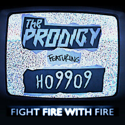 "The Prodigy Fight Fire With Fire / Champions Of London 2 X 7"" Rsd 2019 Nuovo"