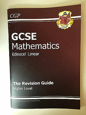 GCSE Mathematics Revision Guide, Higher Level, Edexcel Linear, Key Stage 4