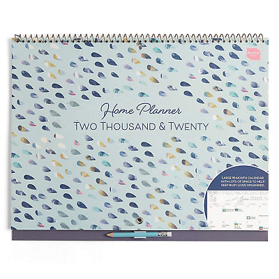 WOODLAND 2018-2019 ACADEMIC Family Organiser Wall Planner