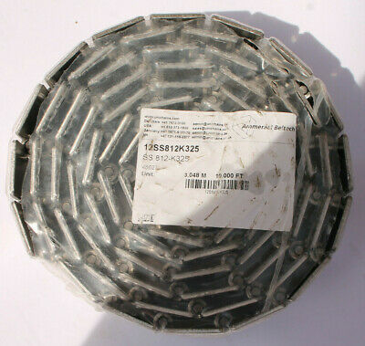 Uni-Chains Conveyor Chains 12SS812K325 10FT - New