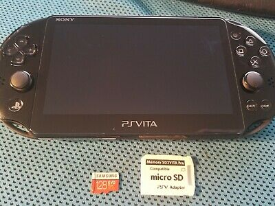 MINT PS VITA PlayStation Vita OLED 3 65 Henkaku Modded Enso 128GB