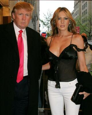Donald Trump Melania Trump 8x10 Photo #A109