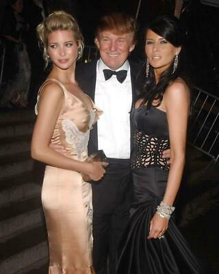 Donald Trump Ivanka Trump Melania Trump 8x10 Photo #A116