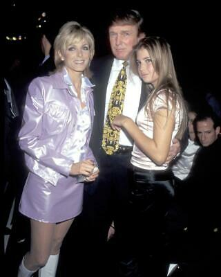Donald Trump Ivanka Trump Marla Maples 8x10 Photo #A24