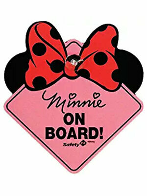 Disney Minnie Mouse On-Board Sign