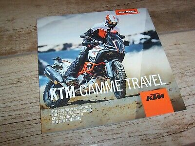 Catalogue / Brochure KTM Gamme Travel / Travel Full Line  2018  /