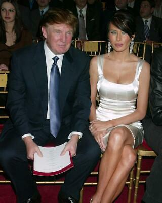 Donald Trump Melania Trump 8x10 Photo #A53
