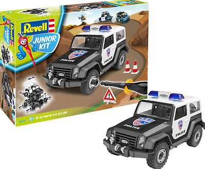 Revell 00820 Police with Figure Multi Colour
