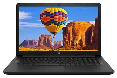 "2019 Newest HP 15.6"" Laptop AMD Dual Core A6 2.6GHz 8GB RAM 1TB HDD DVD Win 10"