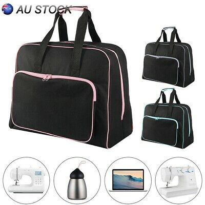 Black Padded Sewing Machine Bag / Carry Case with Pocket Craft Storage 3 Colors