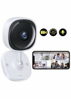 New Lensoul Wireless Baby Monitor Camera Home System 1080p, WiFi Surveillance