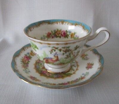 Royal Albert Chelsea Bird CUP & SAUCER   WILL COMBINE SHIPPING