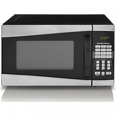 Hamilton Beach 0.9 Cu. Ft. 900W Stainless Steel Microwave