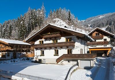 Ski Holiday apartment in the Austrian Alps, Salzburg, one week for 4 people 2019