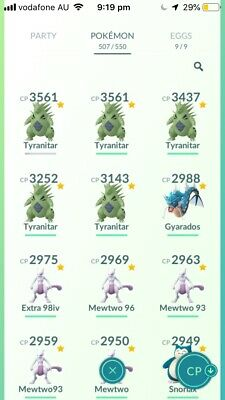 Pokemon Go 1x Tyranitar Trade