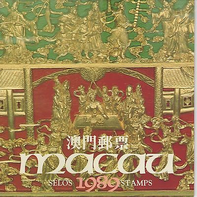 MACAO-CHINA (Portugal)-1989-Complete Year-Official Pack-MINT