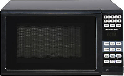 Hamilton Beach 0.7 Cu. Ft. Black Microwave Oven