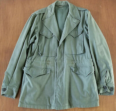 "WWII US M-1943 Field Jacket Pattern ""B"" Feb 1944 36L US Army World War II"