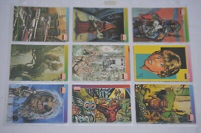 Star Wars Galaxy cards Topps trading cards set of 12