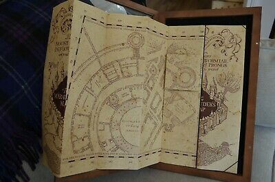 MARAUDERS MAP - Noble Collection - Harry Potter - £37.99 ... on hogwarts map, vikings map, terra nova map, ajax map, avengers map, love map, illuminati map, apocalypse map, random map, zodiac map, black ops map, excalibur map, logistics map, prism map, erik the red map, legion map, stars map, wicked map, civilization map, cubs map,