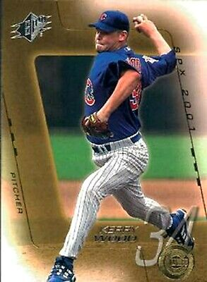 2001 SPx #55 Kerry Wood Chicago Cubs