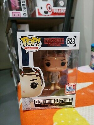 Funko pop Eleven with electrodes NYCC 2017