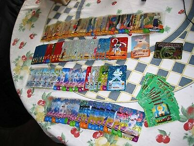 Grande Lotto 161 LAMINCARDS Holo Dragon Ball GT Z SERIE VERDE deck