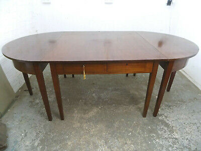 metamorphic,5 tables,dining table,D end,hall,round,square,table,antique,mahogany