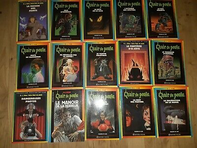 Lot 12 Livres Collection Chair De Poule R L Stine Eur 20