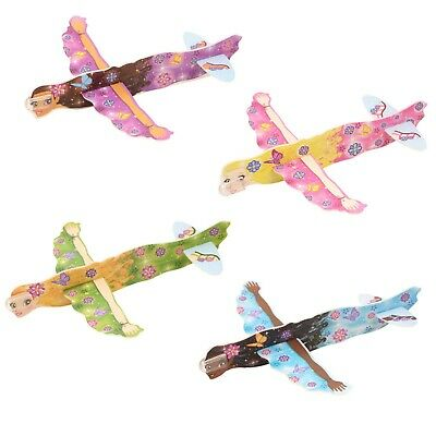 Party Bag Fillers Packs of 1-12 Gliders Fairy Flying Gliders Toys for Kids
