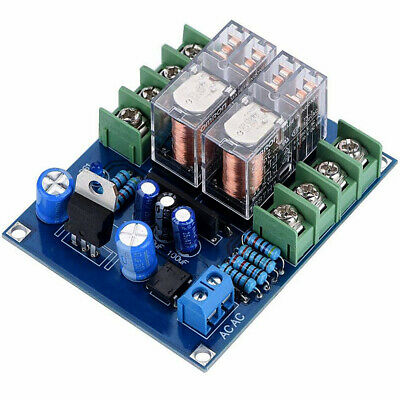Dual OMRON Relay 7812+UPC1237 Speaker Protection Board Kit for HIFI DIY AC 12-24
