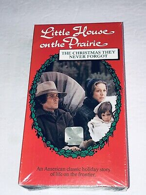 Little House on the Prairie: Christmas They Never Forgot 1974 VHS Landon 44L