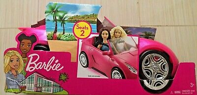 Mattel Barbie Glam Convertible Vehicle DVX59 NEW 3+