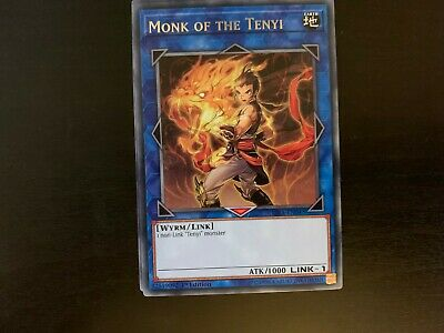 Monk of the Tenyi RIRA-EN043 Silver Rare Yu-Gi-Oh Card 1st Edition New