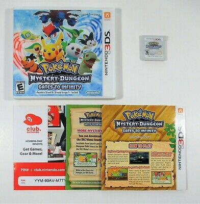 Pokemon Mystery Dungeon Gates of Infinity Nintendo 3DS Complete