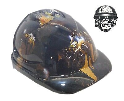 Custom Hydrographic Cap Style Safety Hard Hat CAT CAP
