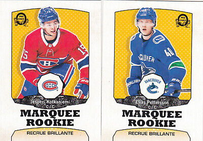 OPC O-Pee-Chee 2018-19 Complete Retro Update Set (601-650) ,with Rookies...