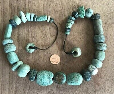 Strand Of Antique Stone Beads. No Reserve