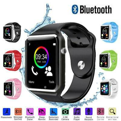 A1 W Smart Wrist Watch Bluetooth GSM Camera Phone For Android Samsung LG Iphone